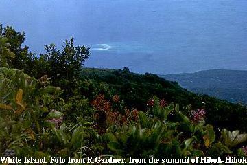 White Island, Foto from R.Gardner, from the summit of Hibok-Hibok